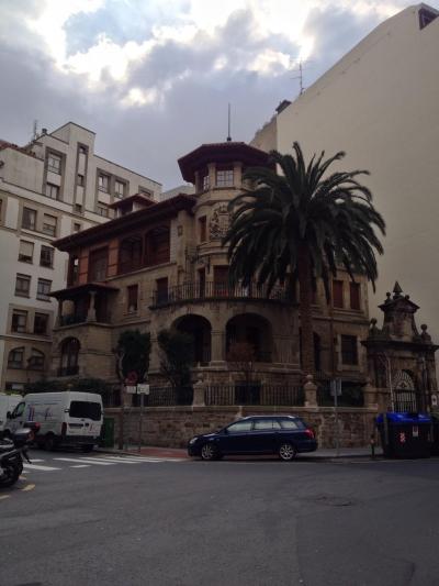 Chalet de la calle Simón Bolivar antigua localización del Instituto.